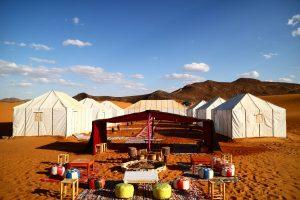 Luxury camp morocco