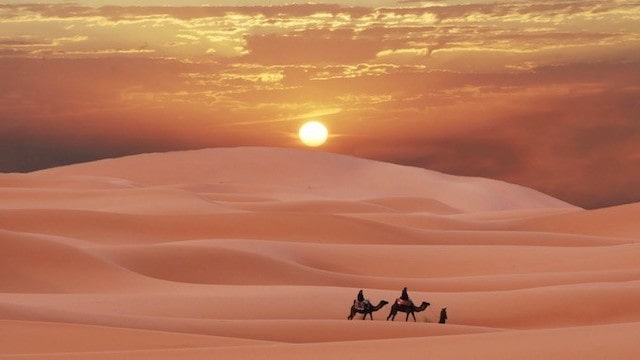 amazing adventure in Sahara desert